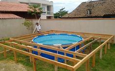 Un uomobrasiliano di nomeJosé Adimilson Franco, non avendo a disposizione molti soldi per acquistare una piscina, è riuscito a realizzare con le proprie mani un qualcosa di davvero spettacolare. Tutti sogniamo di avere qualcosa che