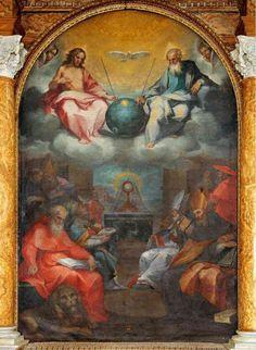 Glorification of the Eucharist by Salimbeni