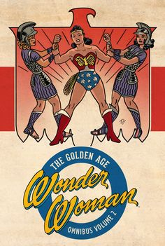WONDER WOMAN: THE GOLDEN AGE OMNIBUS VOL. 2 HC Written by WILLIAM MOULTON MARSTON and others Art by H.G. PETER Cover by DARWYN COOKE
