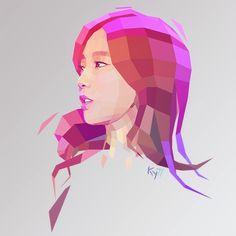 low poly portrait before after Portrait Illustration, Digital Illustration, Coreldraw, Magdiel Lopez, Pop Art, Art Periods, Joker Art, Geometric Art, Geometric Animal