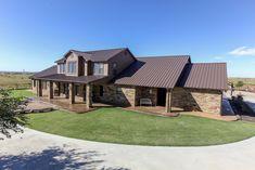 Best Rustic Homes With Metal Roof Brown Metal Roof Wood 400 x 300