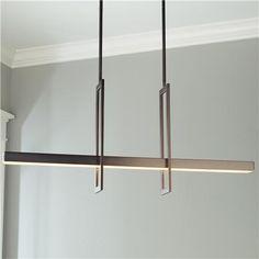Energy Efficient Modern Balance Beam LED Linear Chandelier (in DR)