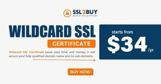 Our cheap Wildcard SSL certificates can secure your fully qualified domain name and its sub-domains.