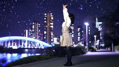✶-- Dance Cover ♪♫ ('odottemita' - '踊ってみた' - 'I tried dancing') --✶ 'Cosmic Star' Vocaloid dance cover, kawaii dance cover with lovely scenery of city lights and stars