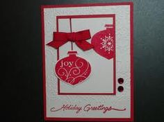 Ornament  Stamp Red