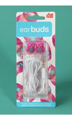 Owl Ear buds I already have these