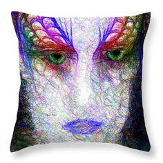 Throw Pillow - Masquerade 9571