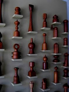 I love this display. Peppermills