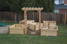 DIY Nation: Building a Cedar Raised Bed Garden