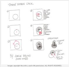 How to draw CACK « TanglePatterns.com