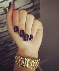 A trend that has been popular is acrylic nail shapes.