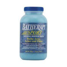 Queen Helene Batherapy Sport Natural Mineral Bath - 16 Oz