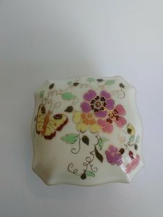 Excited to share the latest addition to my #etsy shop: Antique 1868 Zsolnay Hungary Hand Painted Porcelain Trinket Box Numbered https://etsy.me/2GDzjP1 #vintage #collectibles #white #yellow #zsolnayhungary #vintagetrinketbox #butterflyandfloral #handpaintedporcelain #f