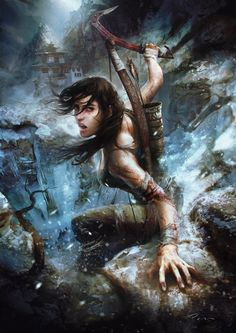 Tomb Raider by Pencracker by ~Pencracker on deviantART