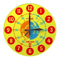 Kids learn to tell time