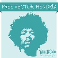 Free Vector Hendrix