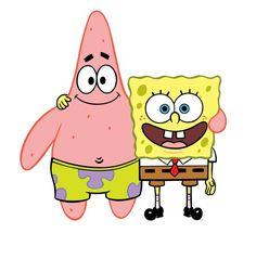 Patrick and Spongebob (bestfriend forever)