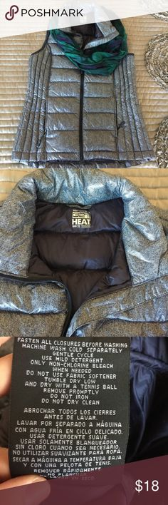 Vest Super soft vest. Lightweight but keeps you warm. Perfect for travel or hiking. Rolls up nicely and fits into small bag. Excellent condition. Weatherproof 32 Degrees Jackets & Coats Vests