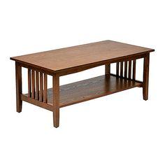 OSP Designs Sierra Coffee Table (Ash Finish)