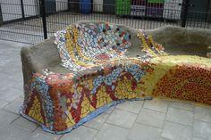 mozaiek door zinenzo
