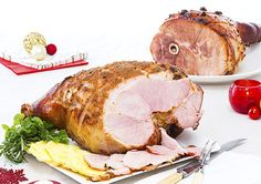 Serving a Christmas ham this year? Here's two yummy glaze ideas to get you started!