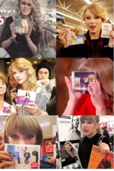 For reputation she bought both magazines lol