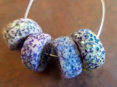 fanciful devices: Polymer clay beads