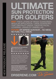 new-era-in-sun-protection-for-golfers by MIMI D.lux  via Slideshare