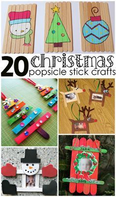 Christmas Popsicle Stick Crafts for Kids to Make - Crafty Morning More