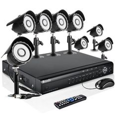 Zmodo 16CH Complete Security DVR CCTV Surveillance Camera System With 8 Outdoor IR Night Vision Camera No Hard Drive by ZMODO. $269.99. Overview This 16 channel video surveillance system provides everything you will need to protect your home or business, safeguard your loved ones, and deter intruders. It makes home and business security simple with its ease of setup and operation. The system includes a state-of-the-art 16 channel H.264 DVR, 8 Bullet Weatherproo...