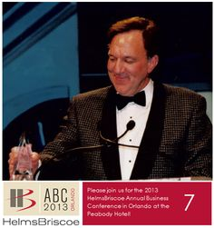 1998 - HelmsBriscoe opens its 48th office and announces its 140th Associate. Associates produce more than 6,500 meetings. This year also marks the only time in HB's history that two HB Annual Business Conferences fell in one calendar year. The first one is held in January 1998 in Reno, Nevada and the second one is the first international HB Annual Business Conference, held in December 1998 in Canada. Peter Shelly, Executive Vice President, is presented with the Visionary Award. #HBABC #WhyHB