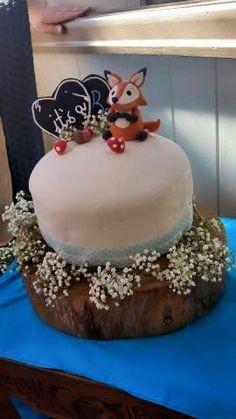Customer photo of fox topper - annabethbakes Woodland Theme Cake, Themed Cakes, Baby Showers, Fox, Desserts, Photos, Theme Cakes, Tailgate Desserts, Deserts