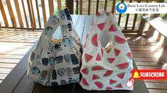 DIY REUSABLE GROCERY BAG , TOTE BAG - YouTube Denim Bag Patterns, Daisy Love, Tote Tutorial, Reusable Grocery Bags, Handmade Bags, Shopping Bag, Tote Bag, Crafts, Knitting