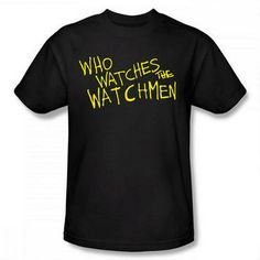 WATCHMEN Who Watches The Watchmen T-Shirt