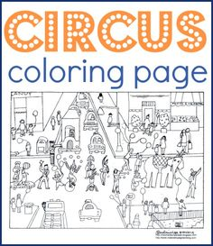An elephant 39 s life activities lesson plans and elephants for Circus seal coloring page