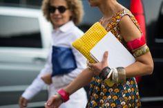Milan Fashion Week Spring 2014 Street Style - Milan Fashion Week Spring 2014 Street Style, Day 4