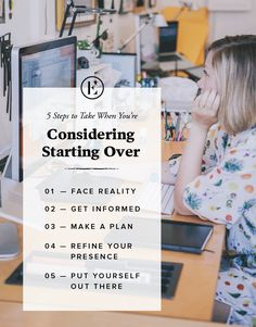 Considering Starting Over in Your Career? These Are the Steps You Need to Take #theeverygirl