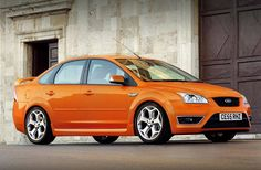 That is really good! Ford Focus Sedan + #ST + Electric Orange color