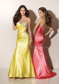 Elastic Silk Like Satin A line Sweetheart Natural Waist Floor Length Sleeveless Evening Dresses