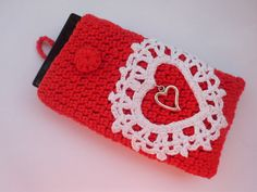 Valentine iPhone crochet case  Accessories for iPhone by ZlatevG, $15.00