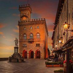 San Marino, Emilia Romagna Italy by @ypsylon_