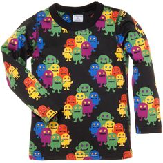 Such cute monsters! MANY A MONSTER PRINT TOP (CHILD 2-6YRS)