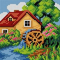 1 million+ Stunning Free Images to Use Anywhere Cross Stitch House, Cross Stitch Kitchen, Cross Stitch Kits, Cross Stitch Charts, Cross Stitch Designs, Cross Stitch Patterns, Plastic Canvas Crafts, Plastic Canvas Patterns, Cross Stitching
