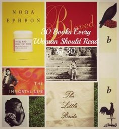 30 Books Every Woman Should Read By 30
