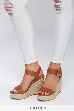 5d50e46804 38 Best Brown Wedges images in 2018 | Woman clothing, Dress skirt ...