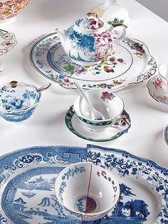 NWT Anthropologie Seletti Hybrid Dorotea Porcelain Round Tray Bone China NEW