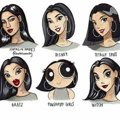 which hair style is your fav? #hair#style#beautiful#gorgeous#nice#beahairs#hairgoal#everything#pin Cartoon Drawings, Cool Drawings, Cartoon Art, Vintage Cartoon, Art Style Challenge, Drawing Challenge, Different Drawing Styles, Arte Disney, Character Drawing