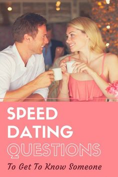 Online dating or speed dating