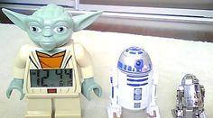 Yoda Clock, R2-D2 Bop-it and R2-D2 metal earth model.