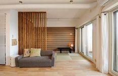 格子でゾーニングした畳コーナー(お客様とコラボ。デザイナーズ・リフォーム)